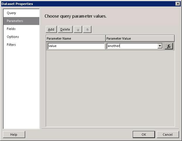 DatasetParameters